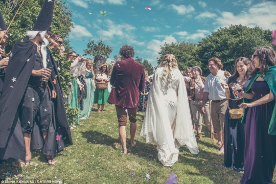 If you're game, dress your husband as a hobbit and get guests to dress as their fave LOTR character. Photo: Elina Kansikas