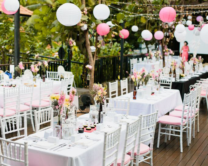 Outdoor Wedding Venues In Singapore Gorgeous Garden And