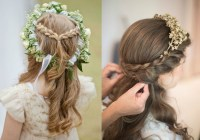 Wedding hairstyles for little girls: 6 cute flower girl ...