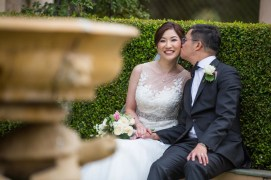 Real weddings in Australia: Clara & Jason's elegant vintage nuptials in Melbourne Honeybrides