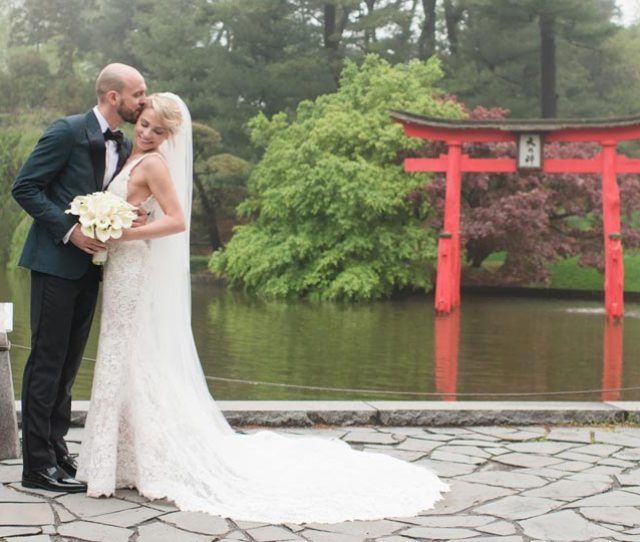 Japanese Garden Ceremony Brooklyn Botanic Garden Wedding