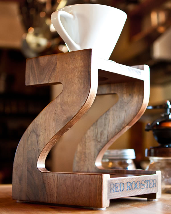 rooster kitchen accessories runner hand.built coffee drip stand