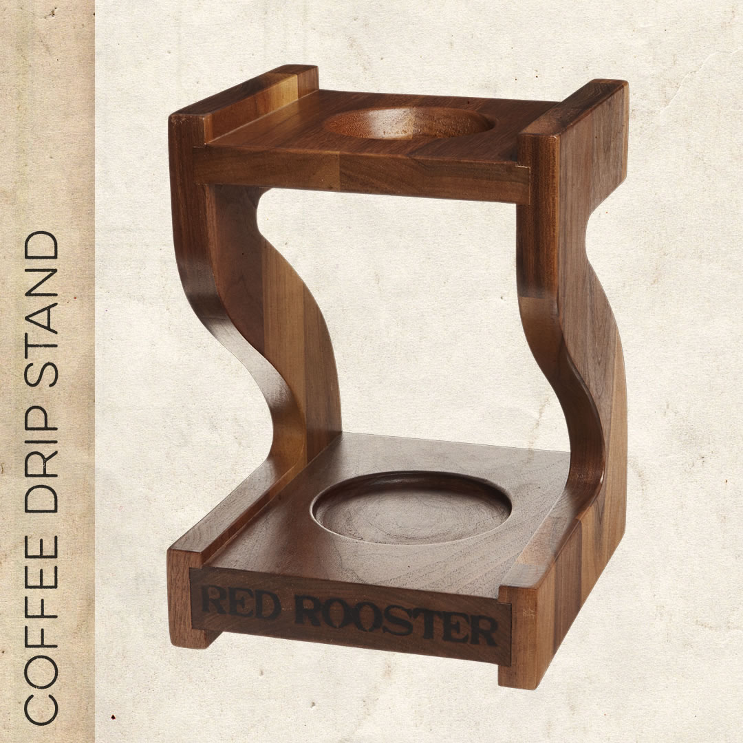 coffee drip stand red