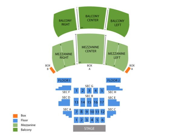 Wilbur Theater Seating Chart Ticketmaster Brokeasshome Com