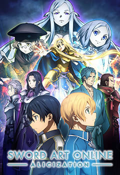 Sword Art Online : Alicization 16 Vostfr : sword, online, alicization, vostfr, Infos, SWORD, ONLINE, -Alicization-, Anime, Streaming, VOSTFR,, Légal, Wakanim.TV