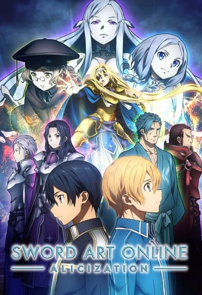 Sword Art Online : Alicization 24 Vostfr : sword, online, alicization, vostfr, Infos, SWORD, ONLINE, -Alicization-, Anime, Streaming, English, Legally, Wakanim.tv