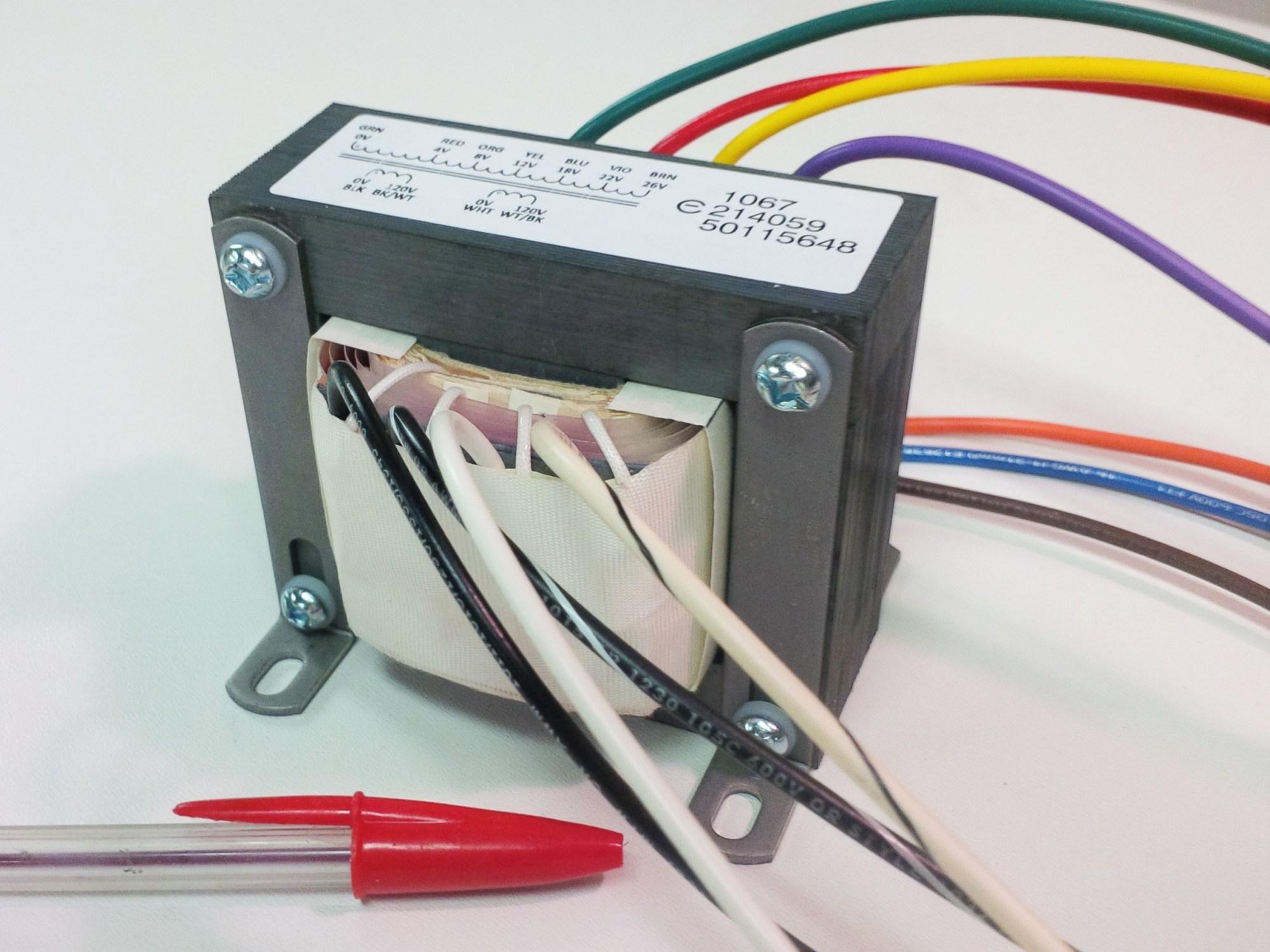 hight resolution of multi tap power transformer 280va