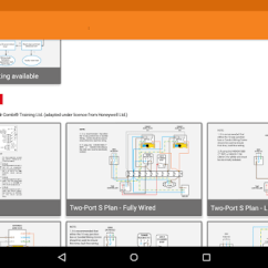 Honeywell Wiring Centre Diagram Ceiling Fan Light Kits Controls Diagrams By Mr Combi Training Tools Category