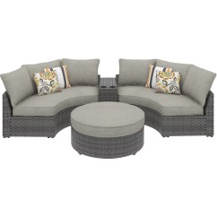Big W Sofa Cushions Gray Sectional With Recliner Curved Corner Chair Cushion By Ashley Furniture P453 851