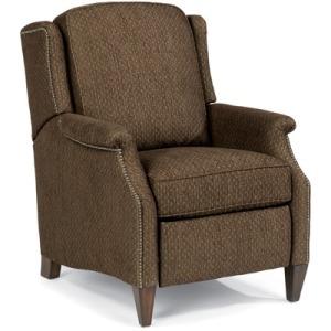 flexsteel chair prices office booster seat furniture darbys big zevon fabric power high leg recliner