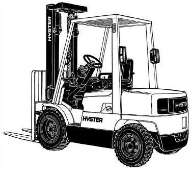 Hyster Man-Up Turret Trucks A463 Series: C1.0-1.3 (V30