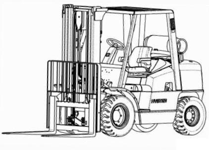 Hyster Forklift L005: H3.50XMS, H3.75XMS, H4.00XMS, H4