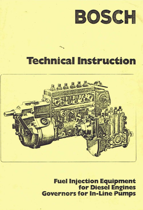 small resolution of bosch vintage diesel fuel pump manuals for mechanics