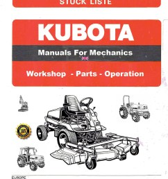 kubota manuals for mechanics the largest plant mechanics kubota manuals archive dvd there is 4 gig of service manuals illustrated part manuals with  [ 1645 x 2278 Pixel ]