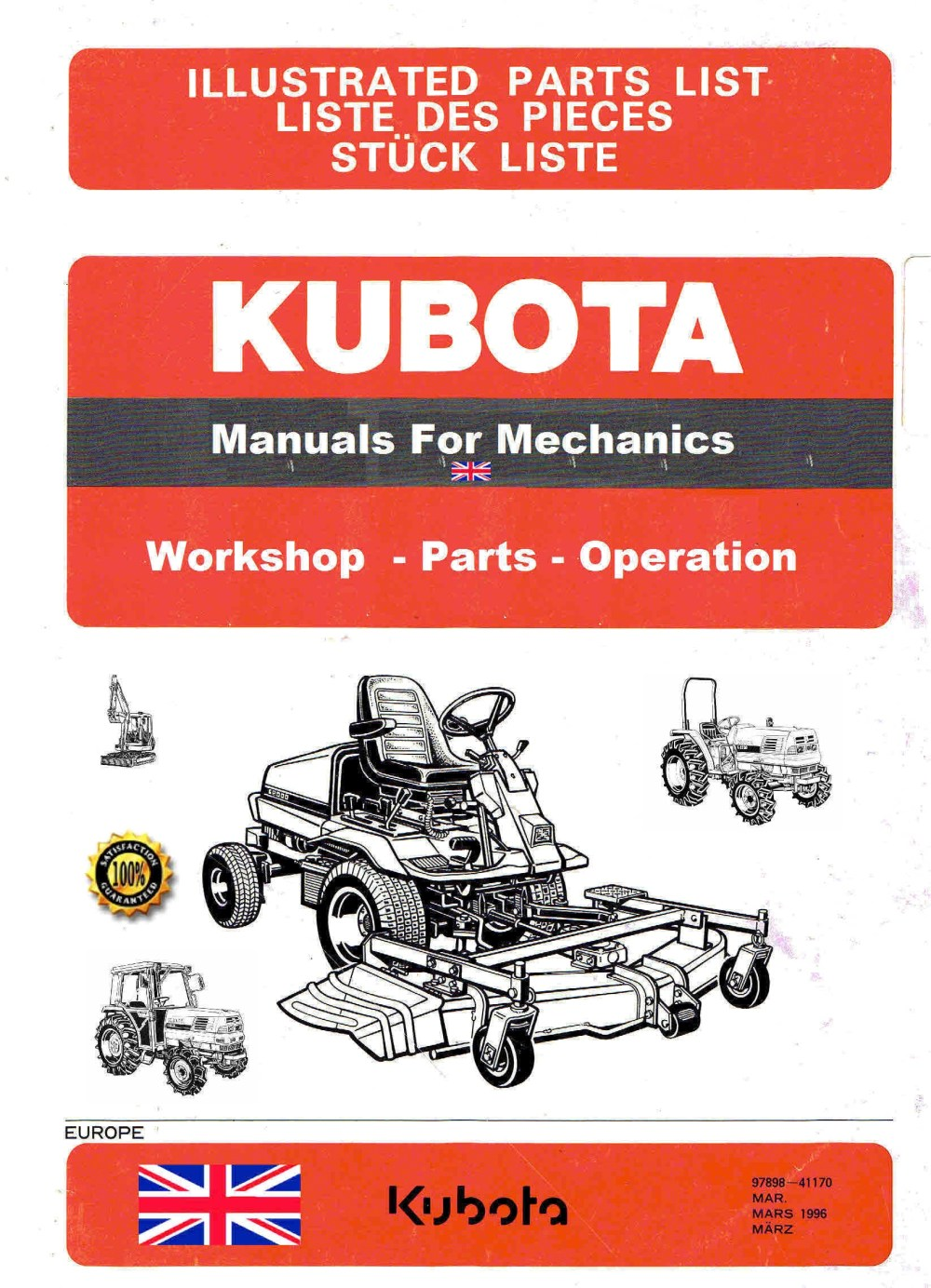 medium resolution of kubota manuals for mechanics the largest plant mechanics kubota manuals archive dvd there is 4 gig of service manuals illustrated part manuals with