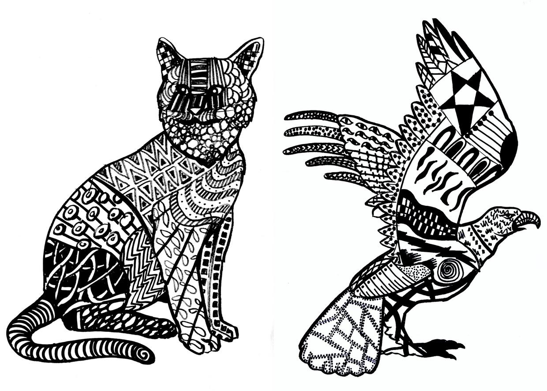 10 Templates Of Animals Miriam Paternoster