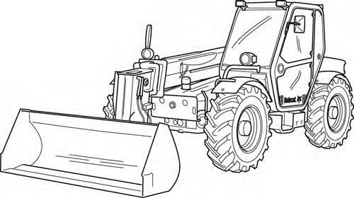 Bobcat T35100 T35100L T35100SL T35120L T35120SL Telesc