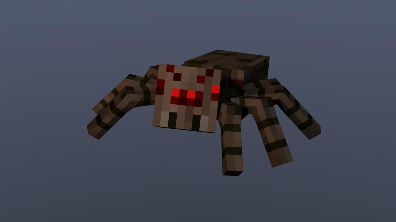 Minecraft Spider Images