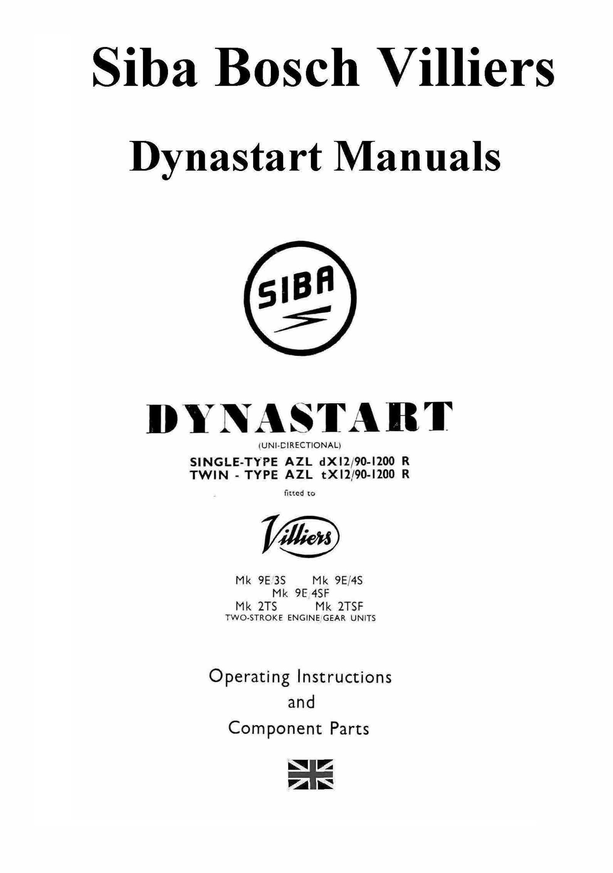 dynastart wiring diagram nissan 350z bose villiers siba manuals for mechanics