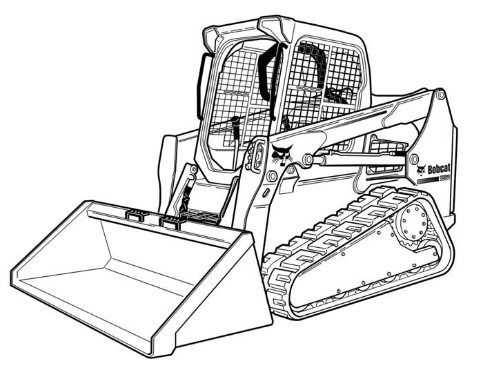 Bobcat T590 Compact Track Loader Service Manual(S/N A3