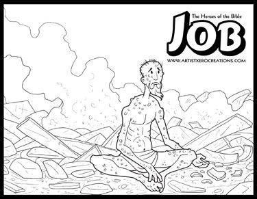 The Heroes of the Bible Coloring Pages: Jonah