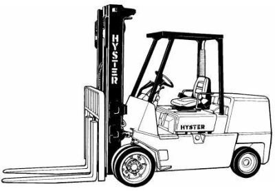 Yale Electric Fork Truck Type AC, BC: ERP 020, ERC/P 0