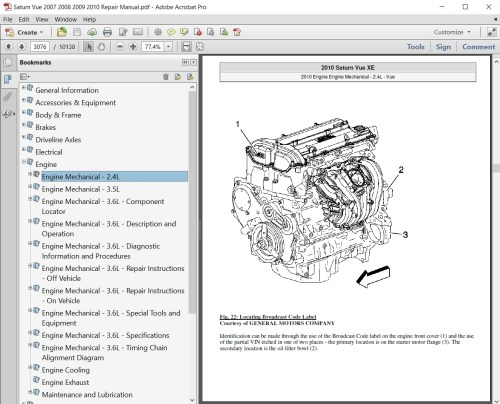 small resolution of saturn vue 2007 2008 2009 2010 repair manual autoservicerepair saturn vue repair diagrams