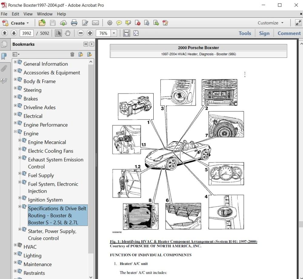 medium resolution of 2000 porsche boxster belt diagram wiring schematic wiring diagrams lol 2000 porsche boxster belt diagram wiring schematic