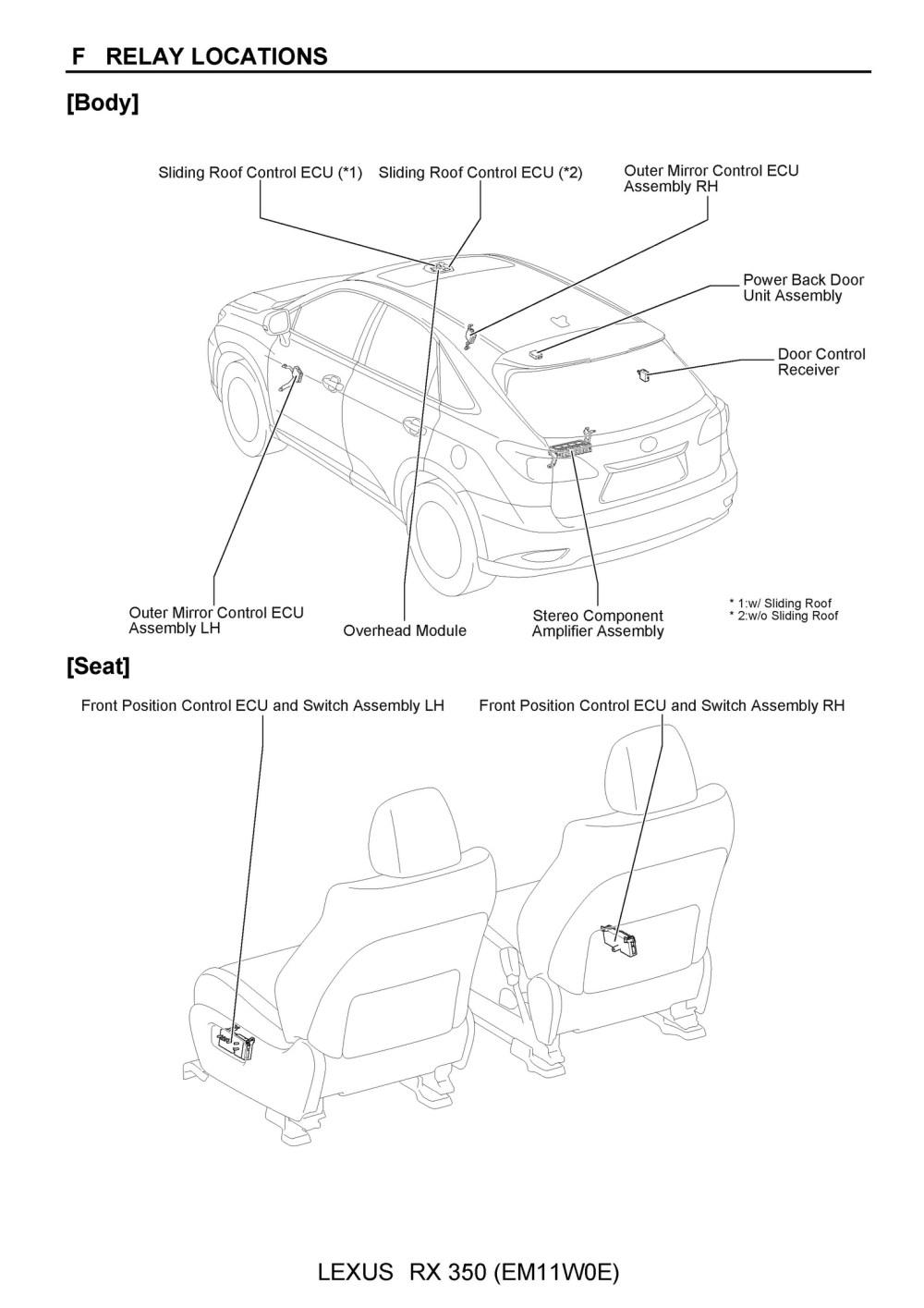 medium resolution of free 2010 lexus rx350 oem electrical wiring diagram oem auto lexus rx 350 radio wiring diagram lexus rx350 wiring diagram