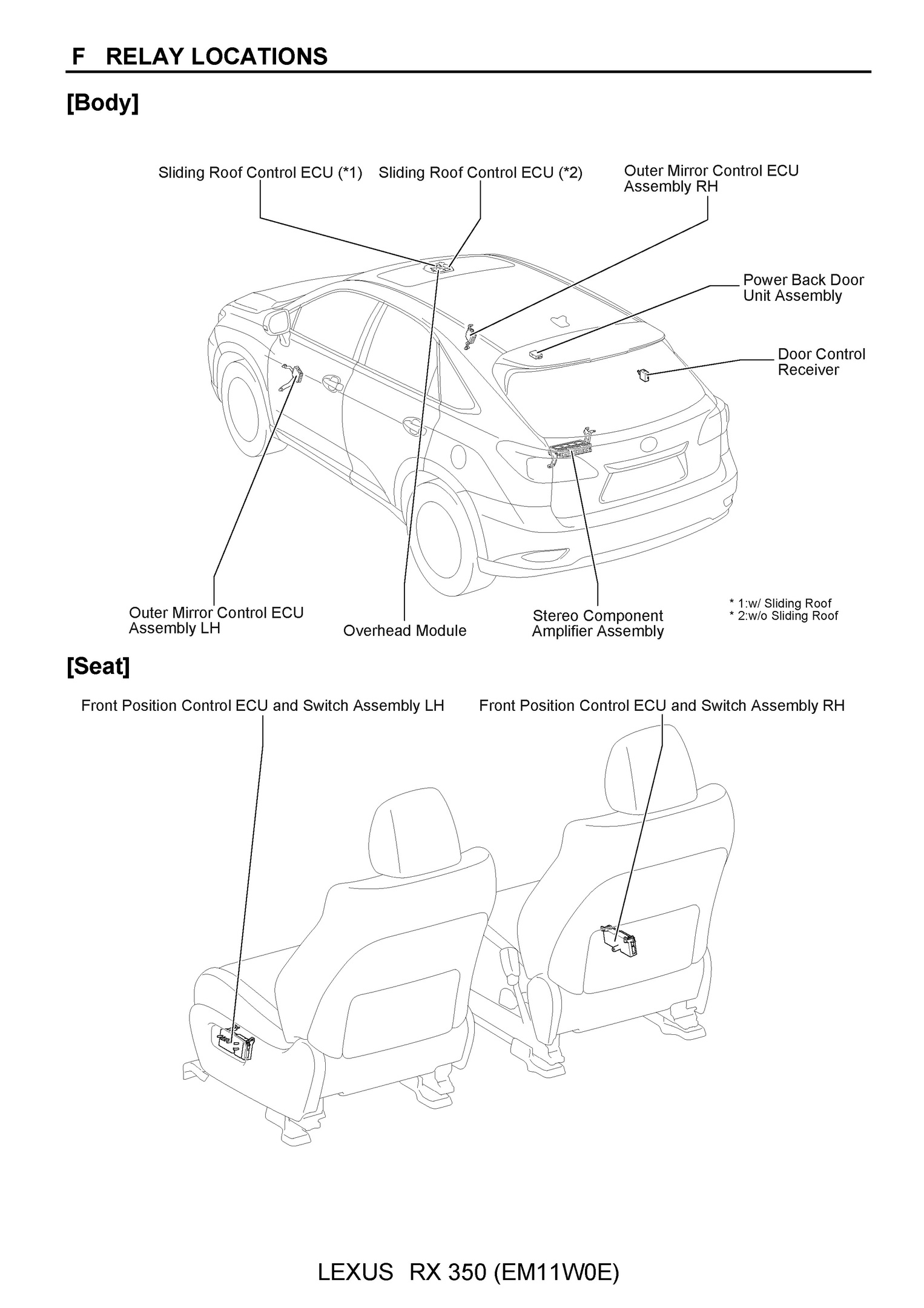 hight resolution of free 2010 lexus rx350 oem electrical wiring diagram pdf