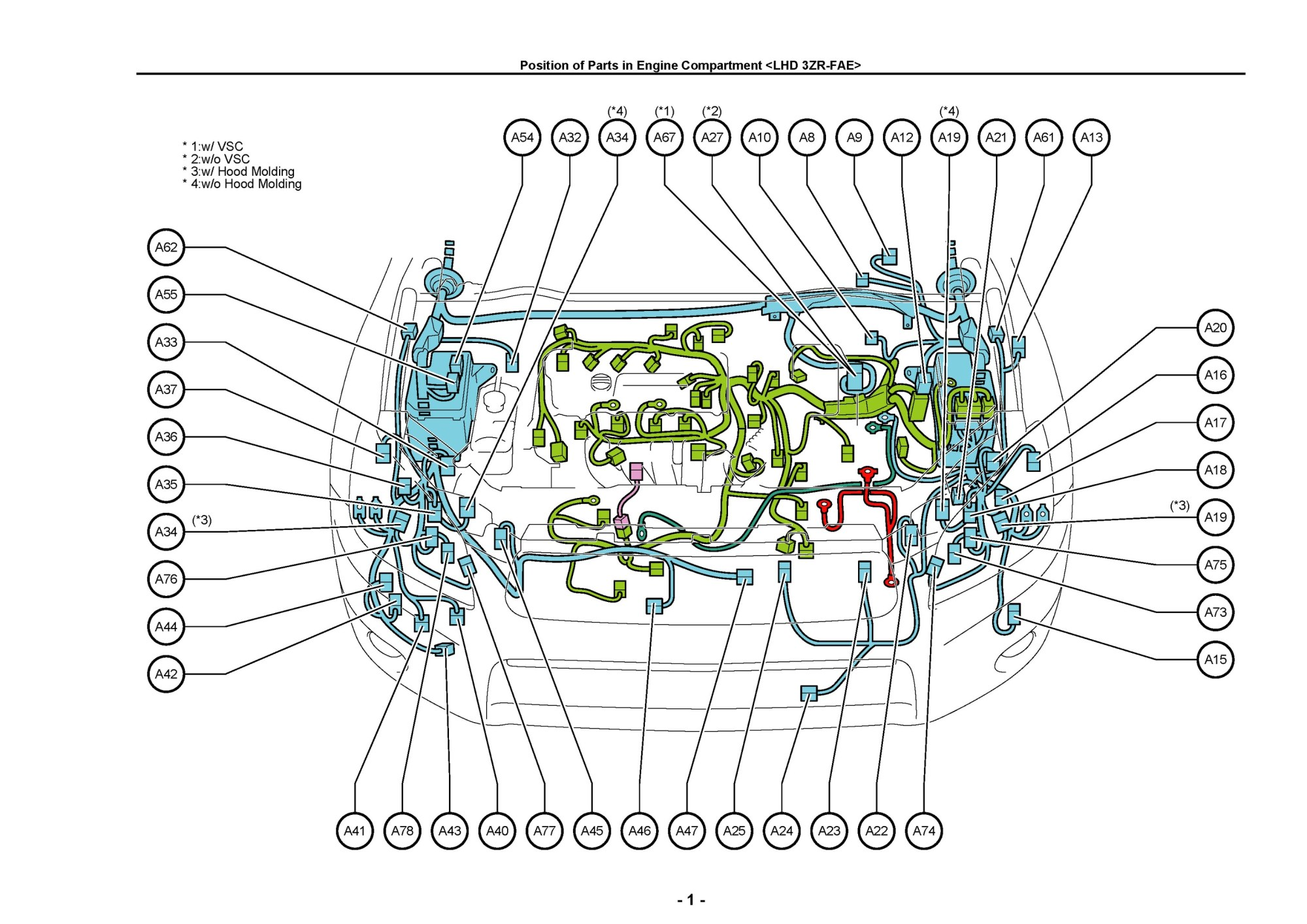hight resolution of uk europe north america toyota rav4 electrical wir sample pages