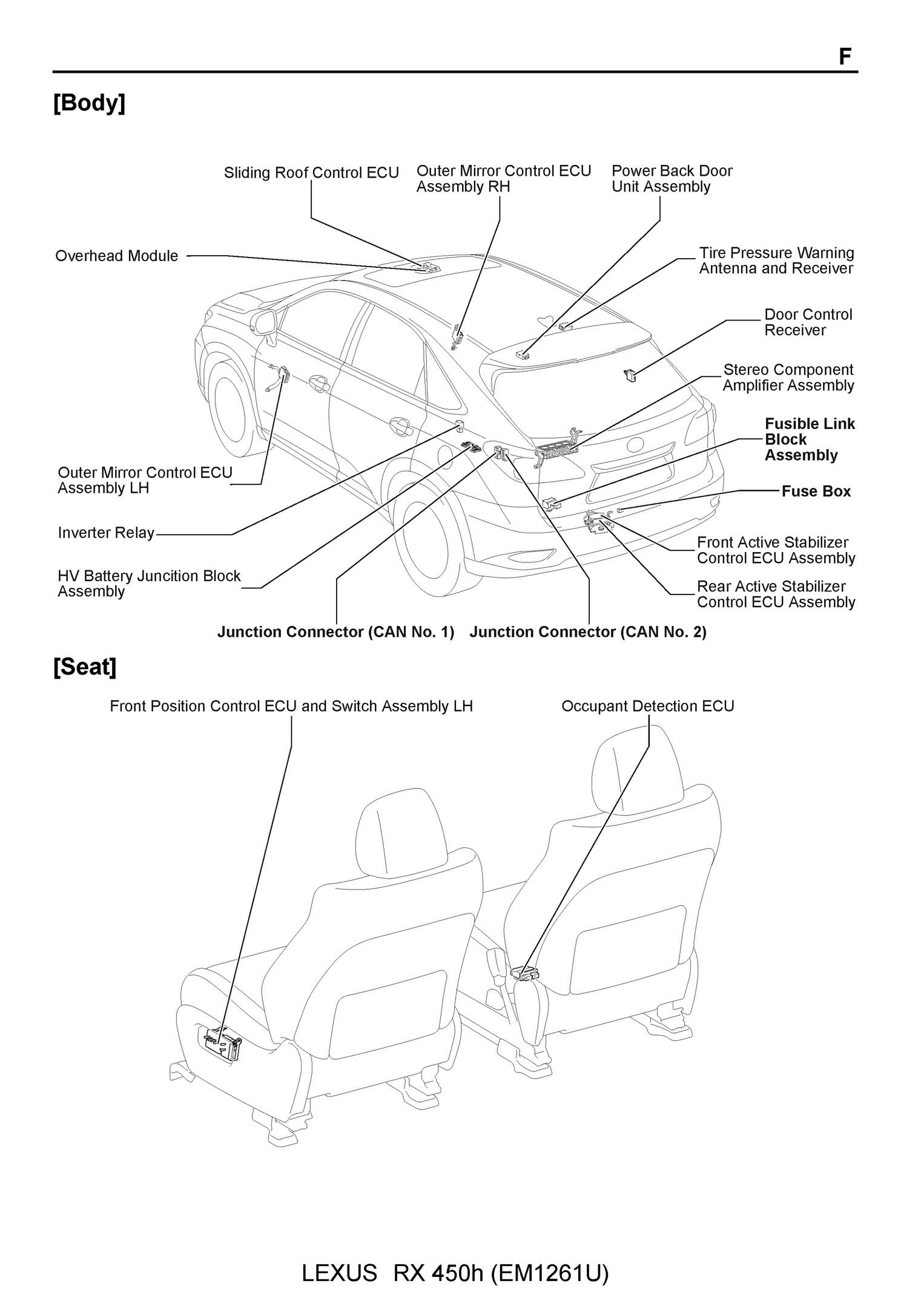 hight resolution of free 2009 lexus rx450h oem electrical wiring diagram pdf