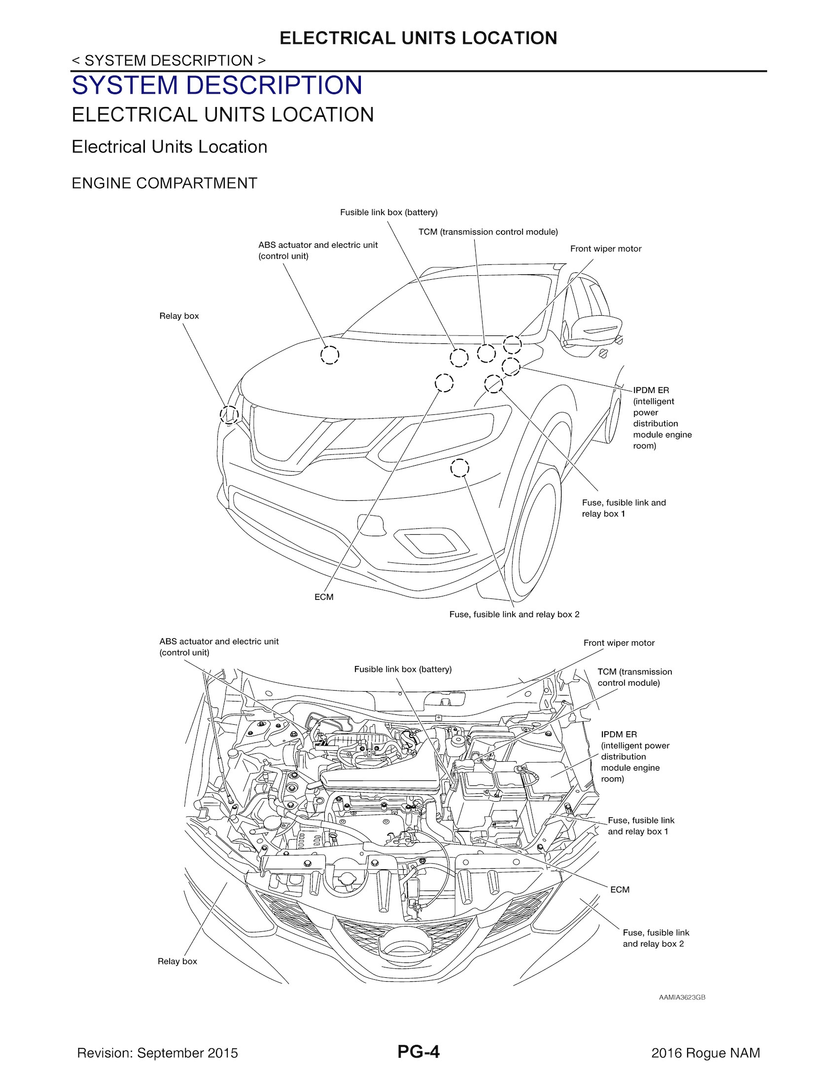 hight resolution of 2016 nissan rogue model t32 series oem service and re oem autofile format original pdf
