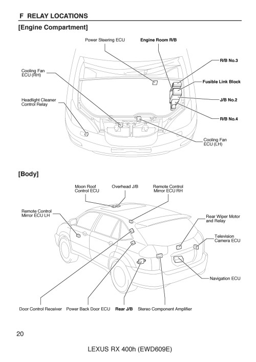 small resolution of free 2005 lexus rx400h oem electrical wiring diagram rh sellfy com 2006 lexus rx400h wiring diagram