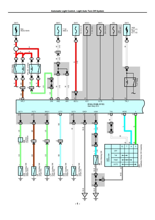 small resolution of the separate wiring manual for each model contains circuit diagrams of each electrical system wiring route diagrams and diagrams showing the location of