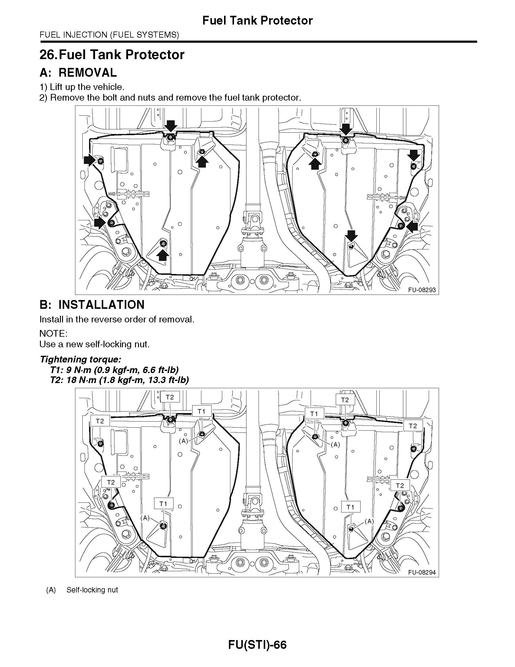 2015 Subaru Impreza WRX & WRX STI, OEM Factory Service
