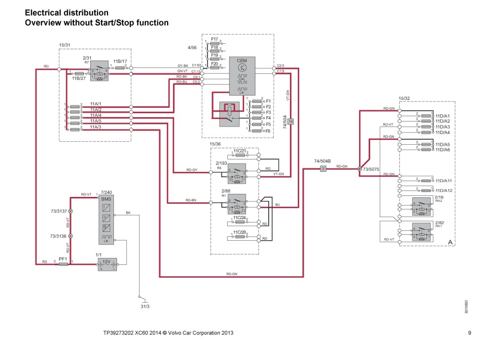 medium resolution of 2014 2015 volvo xc60 oem electrical wiring diagrams oem auto wiring diagram volvo xc60