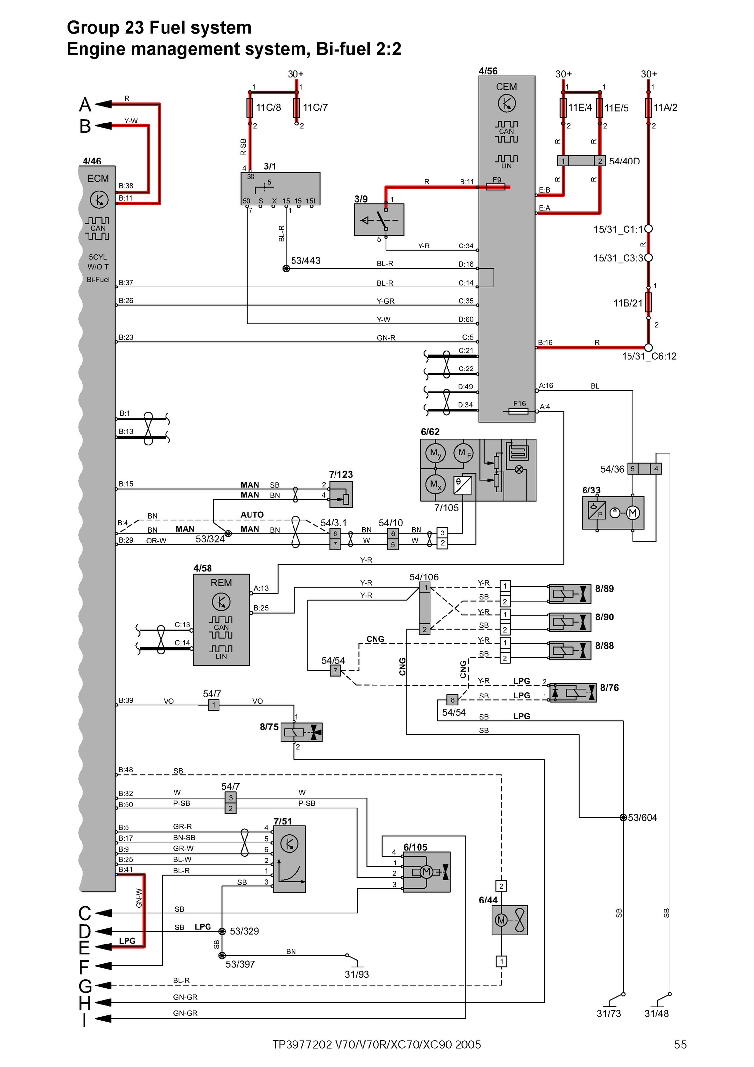 hight resolution of 2005 volvo xc70 wiring diagrams