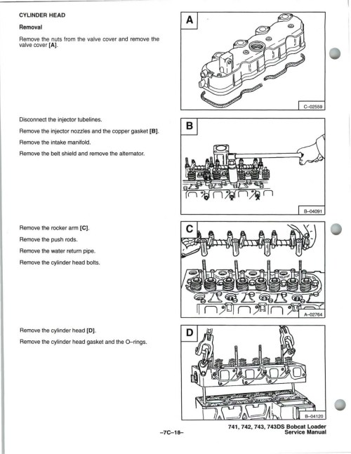 small resolution of bobcat wiring diagrams for 743