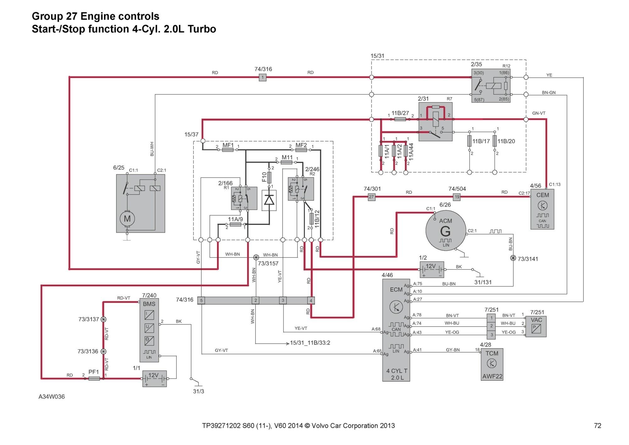 hight resolution of 2015 volvo s60 wiring diagram
