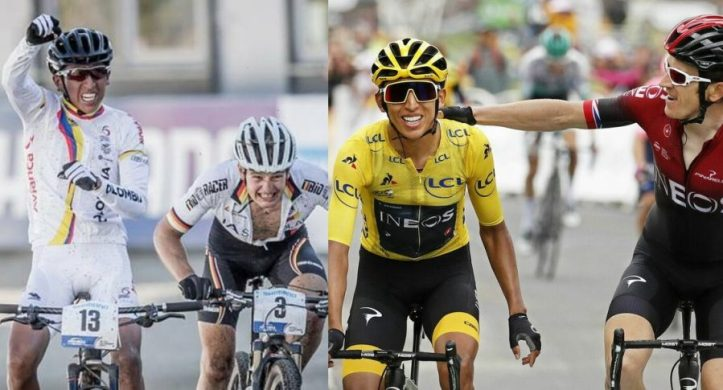 Egan Bernal 2104-Egan Bernal 2019