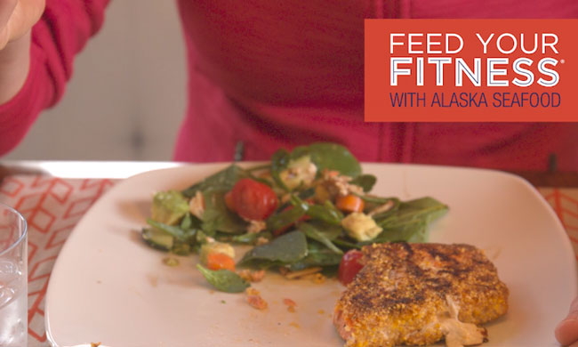 FEED YOUR FITNESS with Seafood