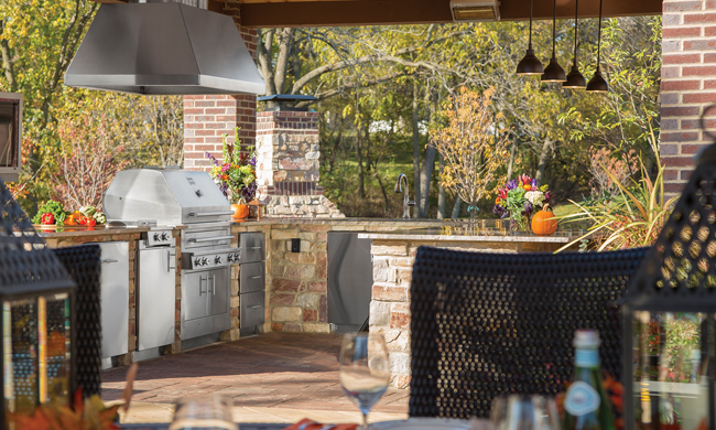 Enjoy Your Outdoor Kitchen All Year Long Free Cooking and BBQ Magazine