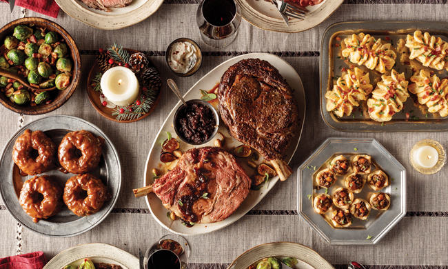 A Festive Meal to Remember Free Cooking and BBQ Magazine