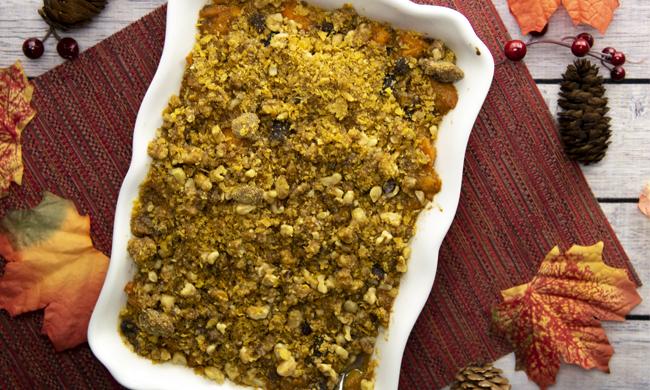 Crunchy Sweet Potato Casserole Free Cooking and BBQ Magazine