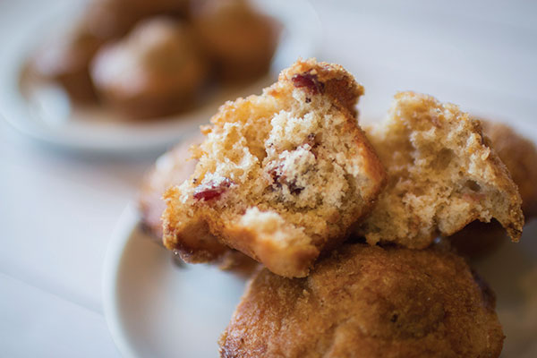 Sweet Orange and Cranberry Muffins