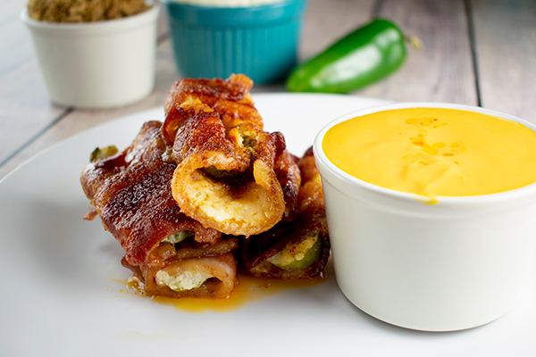 Cinco de Mayo Bacon-Wrapped Jalapeno Poppers Recipe Free Cooking and BBQ Magazine