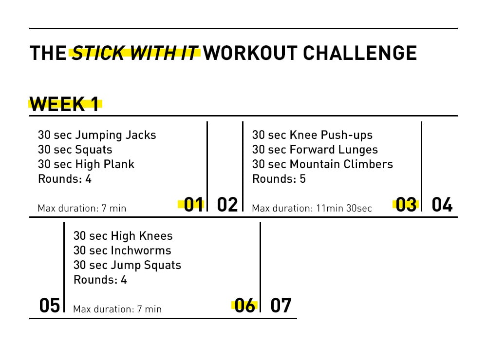 28 day workout challenge