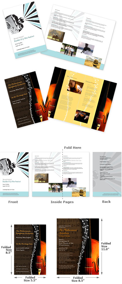 Custom Event Program Printing