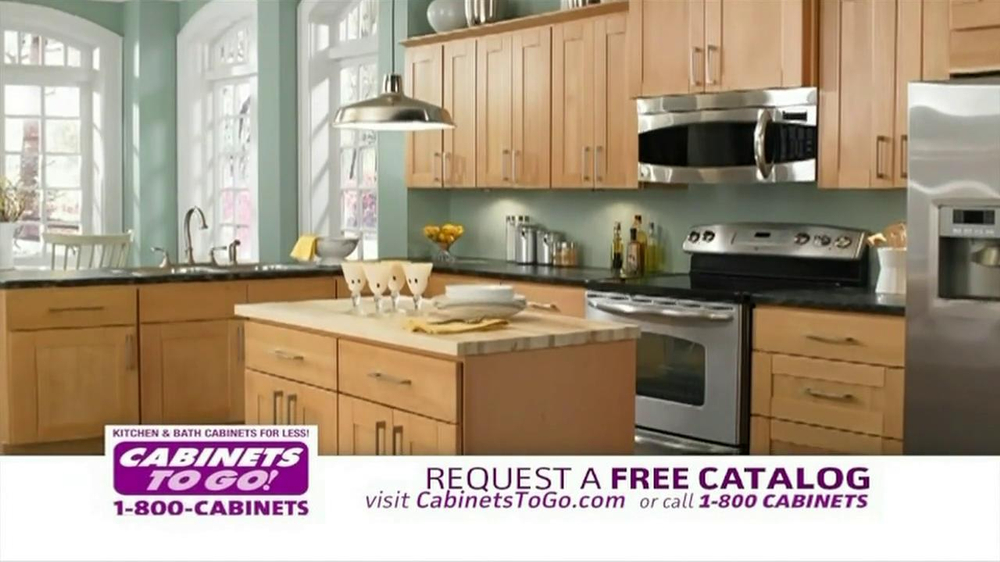 Cabinets To Go TV Commercial for a New Kitchen  iSpottv